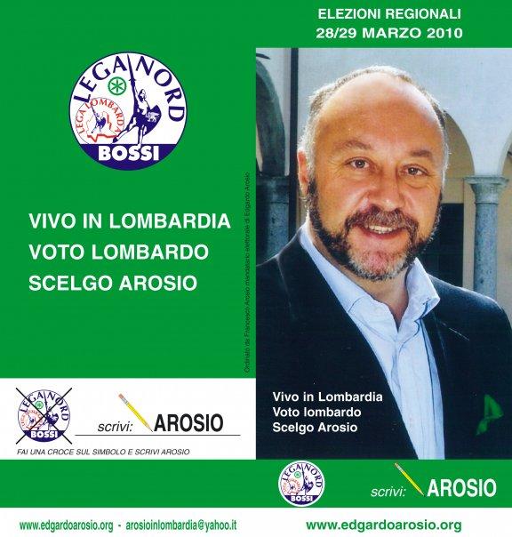 Read more about the article Edgardo Arosio ma chi ti vota?